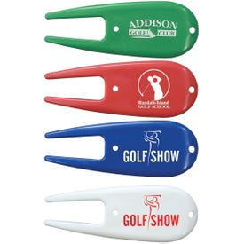 Divot Repair Tools with Your Slogan