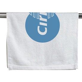Customizable Hemmed Towel