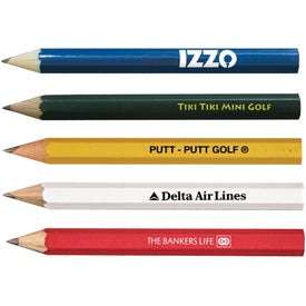 Personalized Hex Golf Pencils