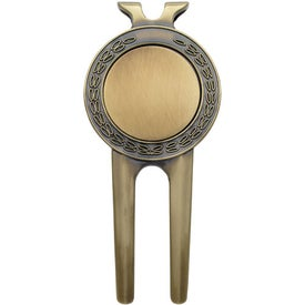 Honor Magnetic Divot Repair Tool with Ball Marker for Marketing