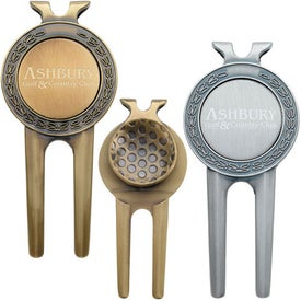 Honor Magnetic Divot Repair Tool with Ball Marker