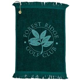 Printed Jewel Collection Golf Towel