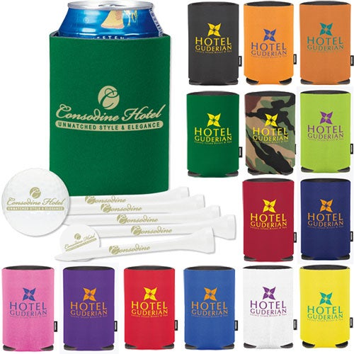 Collapsible KOOZIE Deluxe Golf Event Kit - DTSolo
