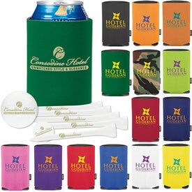 Personalized Collapsible KOOZIE Deluxe Golf Event Kit - DTSolo