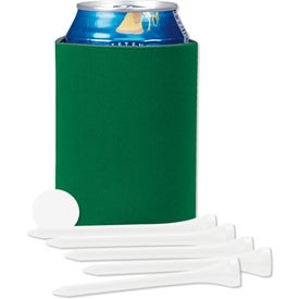 Collapsible KOOZIE Golf Tee Kit for Your Company