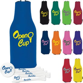 Zip Up KOOZIE Deluxe Golf Event Kit - TF XLDist Imprinted with Your Logo