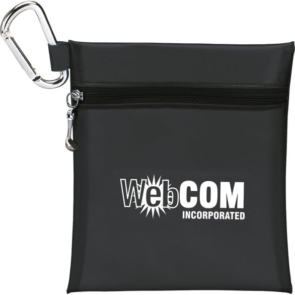 Black Large Tee Pouch