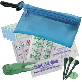 Monogrammed Links First Aid Kit
