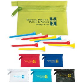Links Pouch with Tees Value Pak