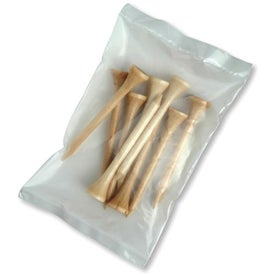 Wooden Long Golf Tee Packs for Your Church