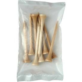 Wooden Long Golf Tee Packs