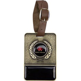 Metal Golf Bag Tag