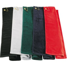 Midweight Terry Golf Towel Giveaways