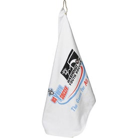 Midweight Terry Golf Towel for Advertising