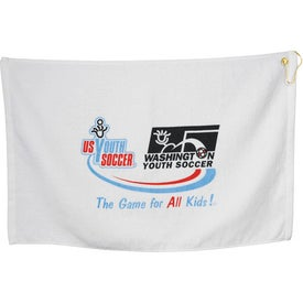 Imprinted Midweight Terry Golf Towel
