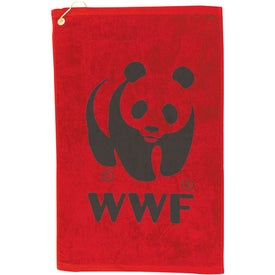 Midweight Terry Golf Towel for Your Organization