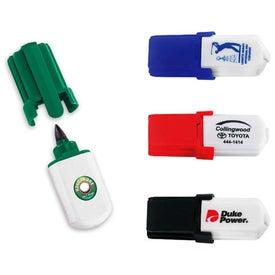 Company Mini Golf Ball Marker