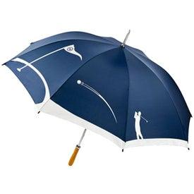 MonoGraFX Golfer Umbrella Branded with Your Logo