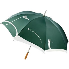 MonoGraFX Golfer Umbrella for Advertising