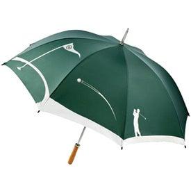 MonoGraFX Golfer Umbrella for Advertising
