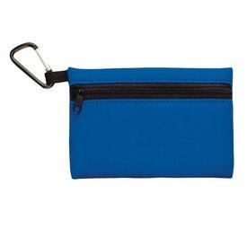 Custom Neoprene Ditty Bag With Carabiner