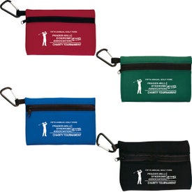 Neoprene Ditty Bag With Carabiner for Promotion