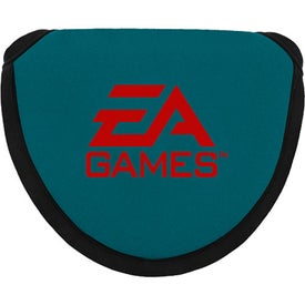 Logo Neoprene Mallet Putter Cover