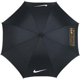 "Custom Nike 52"" Single Canopy Umbrella"