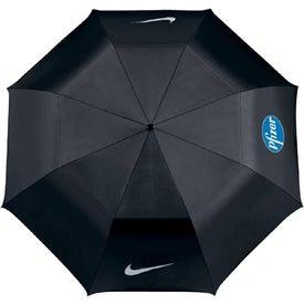 "Imprinted Nike Golf Collapsible 42"" Umbrella"