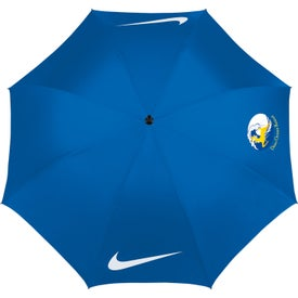 """Nike Golf Windproof 62"""" Umbrella Printed with Your Logo"""