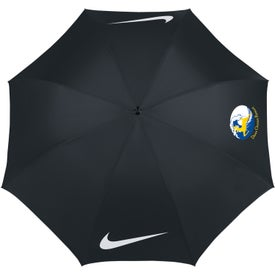 "Nike Golf Windproof 62"" Umbrella Imprinted with Your Logo"