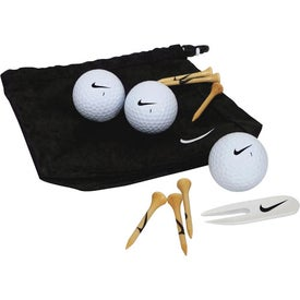 Nike Golf Valuables Pouch 3-ball Kit for Marketing