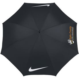 Printed Nike Windproof Golf Umbrella
