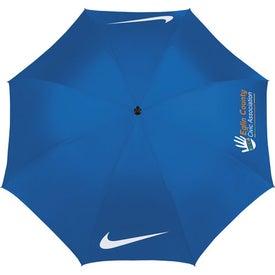 Imprinted Nike Windproof Golf Umbrella