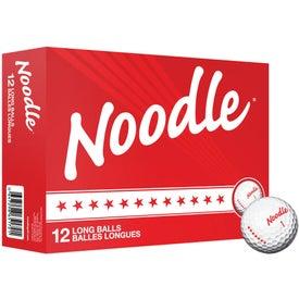 Noodle Long Standard Service Golf Balls