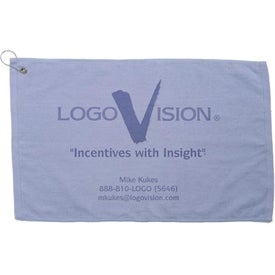 Branded Platinum Collection Golf Towel