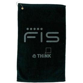 Company Platinum Collection Golf Towel
