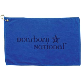 Promotional Platinum Collection Golf Towel