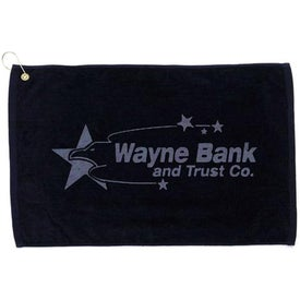 Platinum Collection Golf Towel for Your Organization