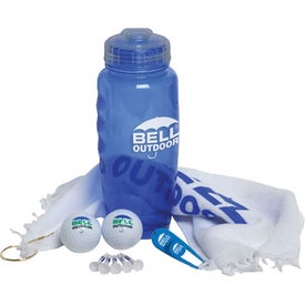 Poly-cool Bottle Golf Kit Giveaways