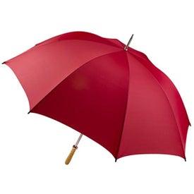 Pro-Am Golf Umbrella with Your Slogan