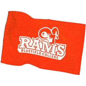 Rally Towel In Colors for Marketing