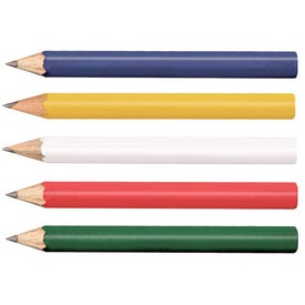Company Round Golf Pencils