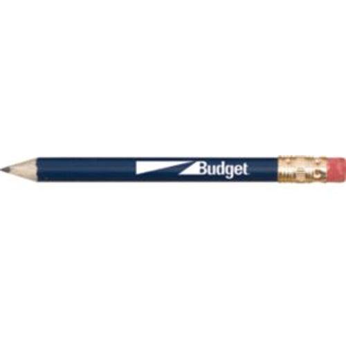 Round Wooden Golf Pencil with Eraser