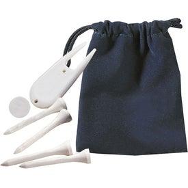 Custom Scotland Golf Kit in Pouch