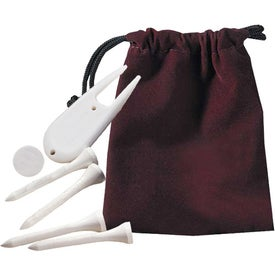 Scotland Golf Kit in Pouch for Customization