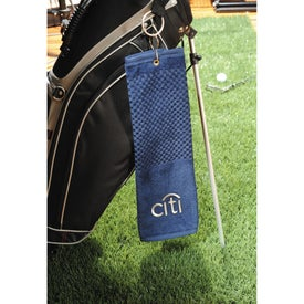 Company Scrubber Golf Towel