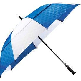 Logo Slazenger Champions Vented Auto Golf Umbrella