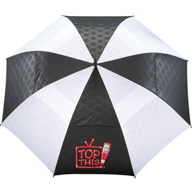 Slazenger Champions Vented Auto Golf Umbrella with Your Slogan
