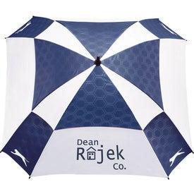 Advertising Slazenger Cube Golf Umbrella